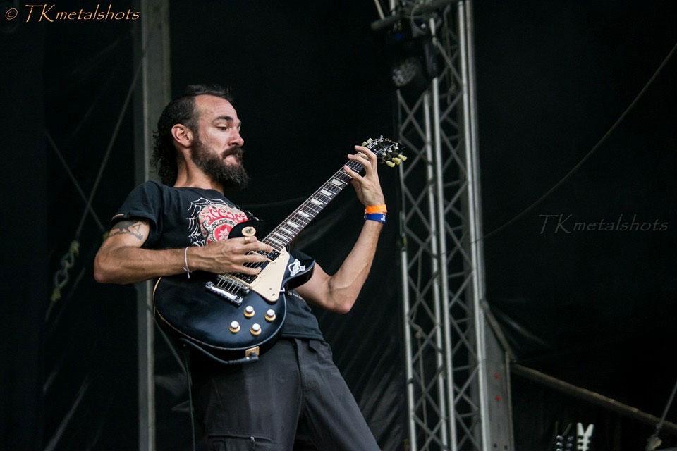 Juan Carrizo   ZiX @ Metal Days 2016 - Juan Riffeando