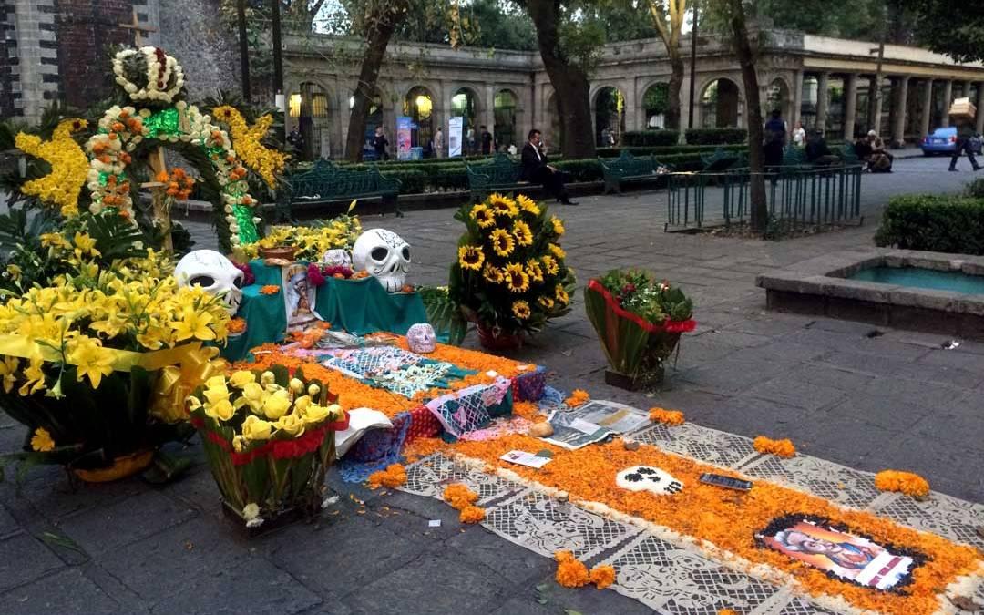 Dia de muertos en Mixquic