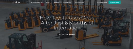 Odoo Toyota