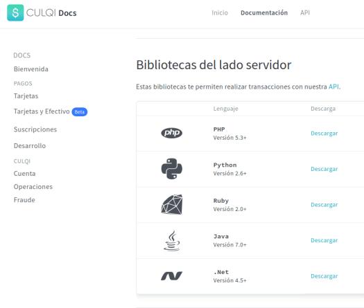 Integrando la pasarela de pagos Culqi con CodeIgniter