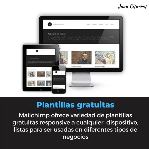 Template responsive para email marketing con Mailchimp