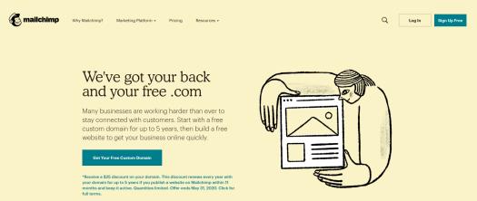 Registro en MailChimp para WordPress