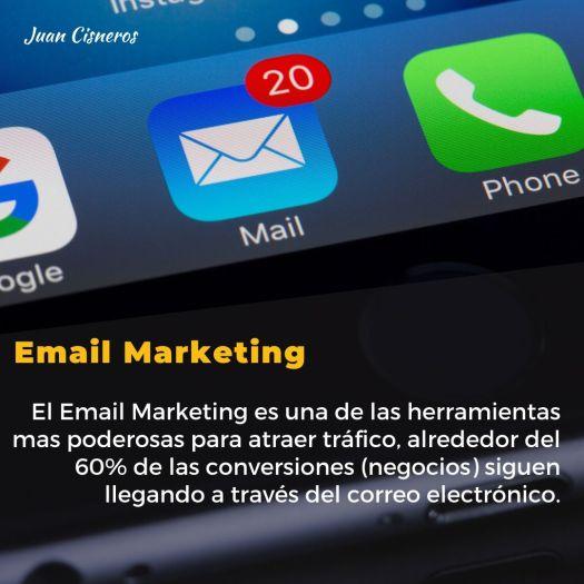 Tácticas inteligentes para generar tráfico en nuestro sitio web - Email Marketing