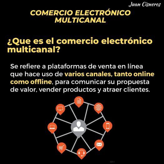 Que es el comercio electronico multicanal