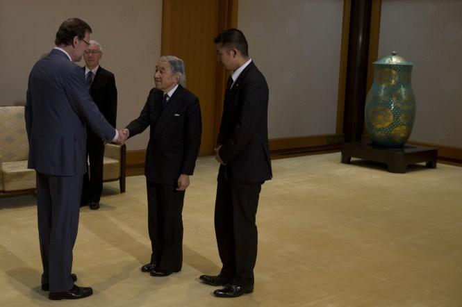 Todas las actuaciones públicas de Rajoy en Japón han sido extremadamente respetuosas y adecuadas a los usos y costumbres de la diplomacia.
