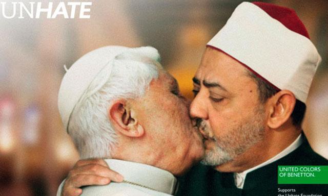 Beso Papa Imán