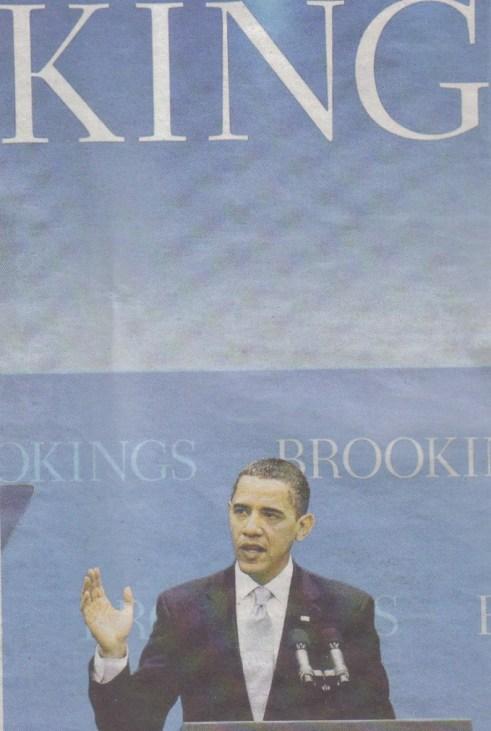 The King Obama