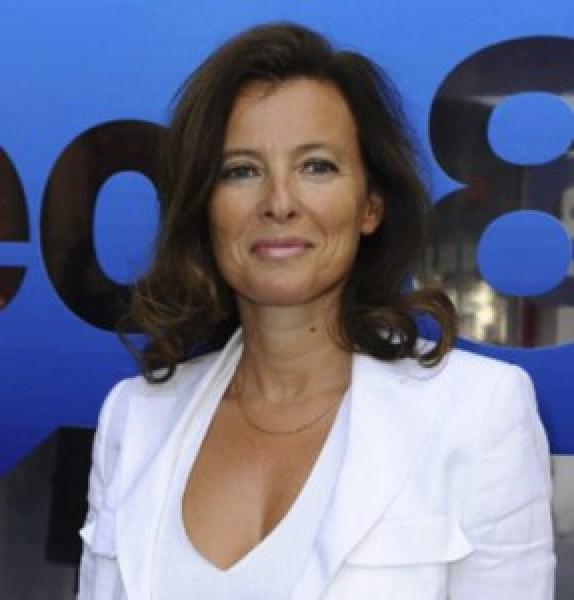 Valerie-Trierweiler es la compañera sentimental de François Hollande y rival de la actual Primera Dama francesa