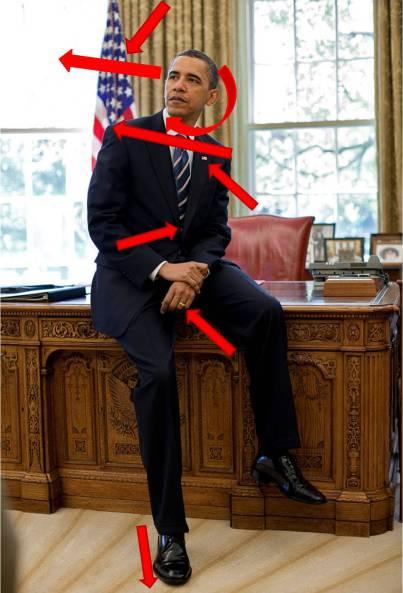Posado de Obama