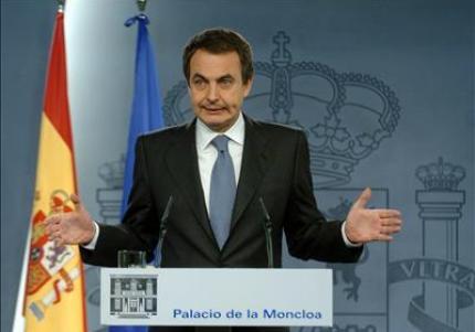 El gesto no ayuda al Presidente Zapatero.