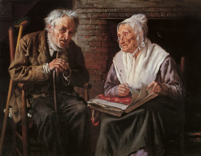 John George Brown - Old memories