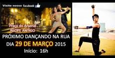 Estreia no Dançando na Rua (Recife,2015)