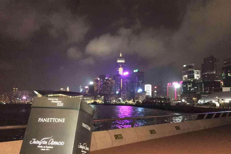 Panettone Juanfran Asencio en Hong Kong
