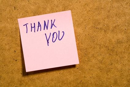 An Entrepreneur's Thank-You List