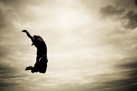 Leap, But Don't Forget To Live