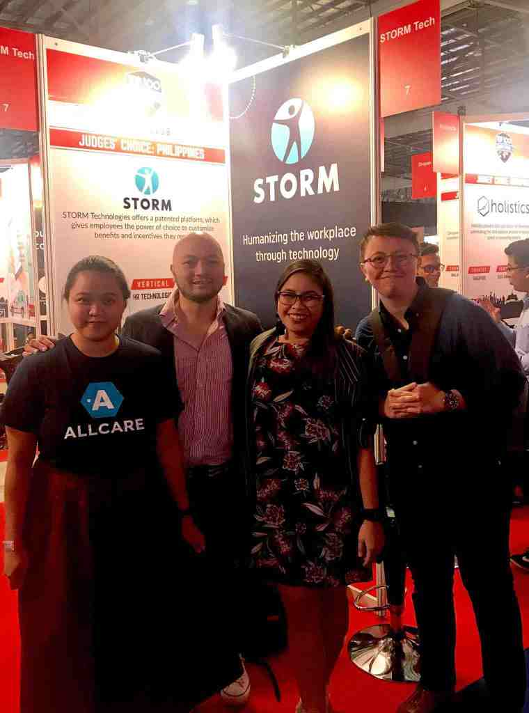 At the e27 Finals in SG with the STORM team