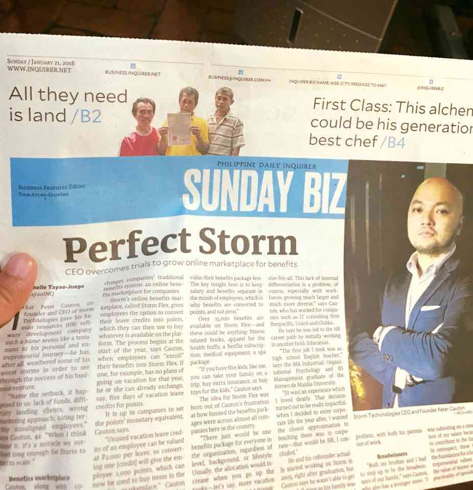 Inquirer Business Feature