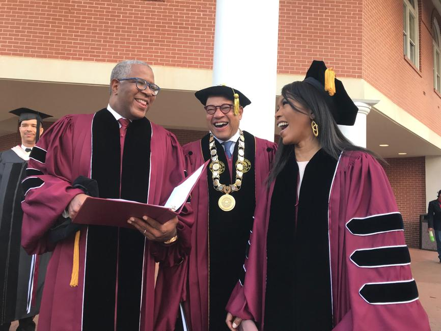 Billionaire Robert F. Smith Receives Honorary Doctorate From Morehouse College Then Pays Off Class of 2019's Student Loans