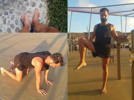 Ejemplos de ejercicios de mis entrenamientos.