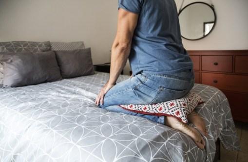Ayudas para progresar en la posición de rodillas