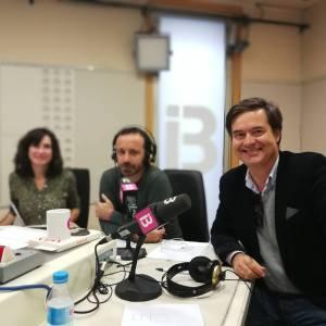Entrevista en Ib 3 radio a Juanjo Amengual