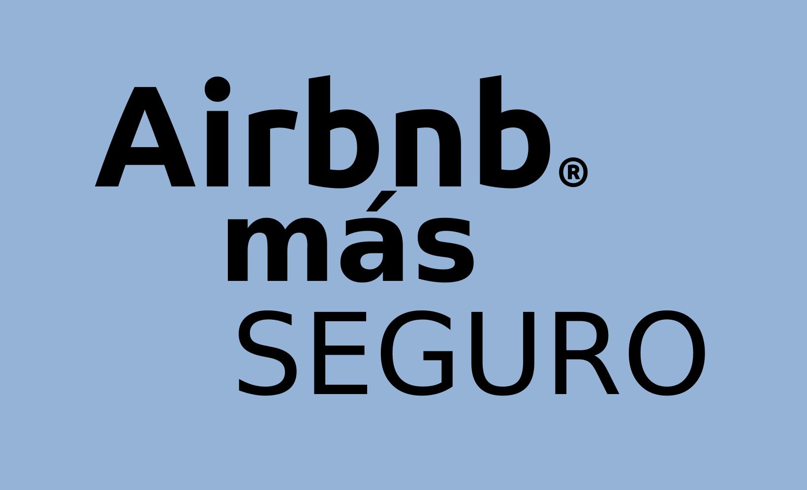 Airbnb más seguro
