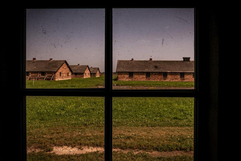 Vista interior barracones Auschwitz- Birkenau