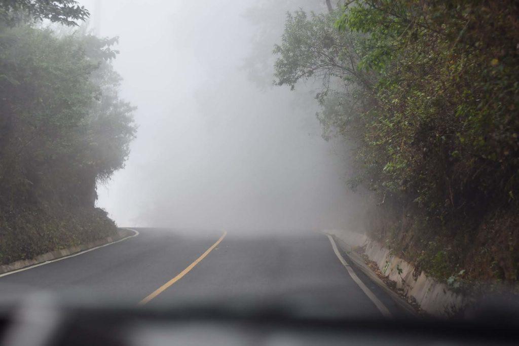 Vista de la Carretera hacia Comasagua, La Libertad, El Salvador