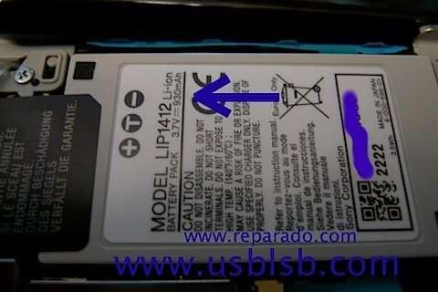 lip1412 - psp go battery