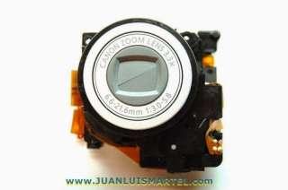 reparación cámaras digitales sustitución de bloque de lente o óptica en camaras compactas