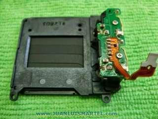 reparación cámaras digitales obturador camara nikon