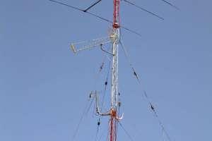 Instalación de antenas de telecomunicacion