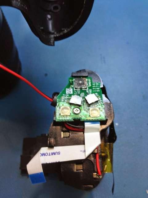 reparar camara digital Fujifilm FinePix interruptores de zoom de la lente