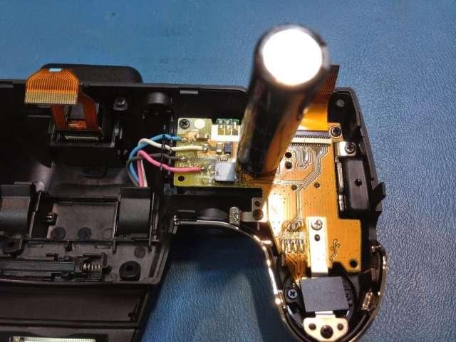 reparar camara digital Fujifilm FinePix Unidad de flash rota