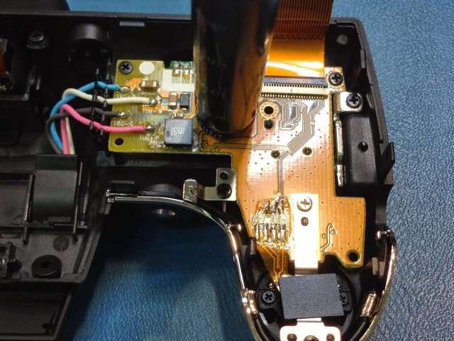 reparar camara digital Fujifilm FinePix cables de silicona del flash