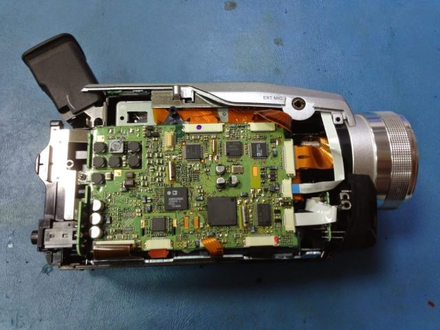 reparación de camaras Panasonic en Canarias