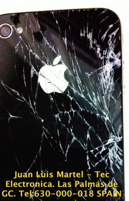 reparar pantalla iPhone en Las Palmas