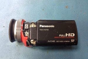 Reparación de video camara Panasonic HDC-HS700