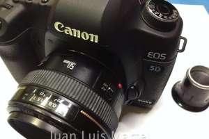 Reparación camara de fotos Canon EOS 5D Mark I