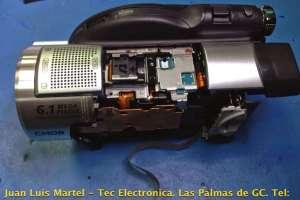 Reparación de video camara de la marca SONY DCR-DVD506