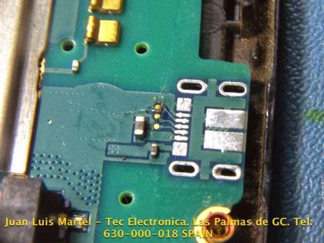 reparar samsung en las palmas conector micro usb roto