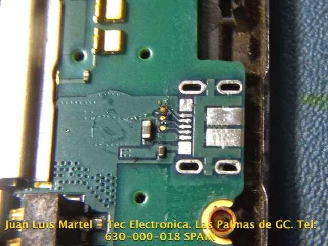 Conector micro usb desolado