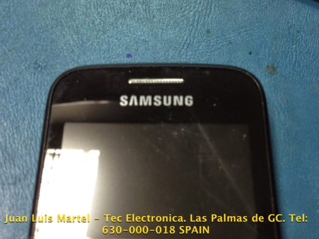reparar pantalla del telefono