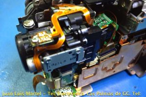 Reparación de video camara Panasonic VDR-D250