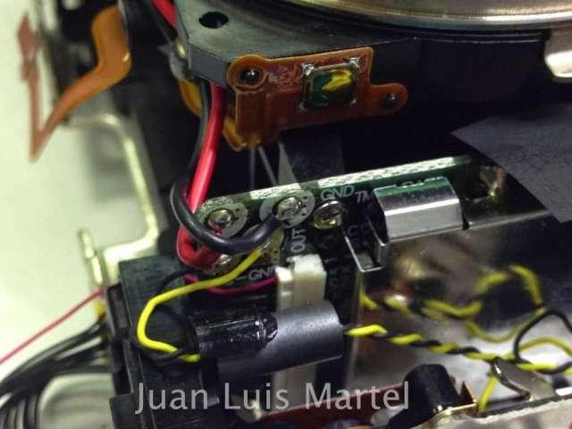 Reparacion espejos camara Canon 5D Mark 2