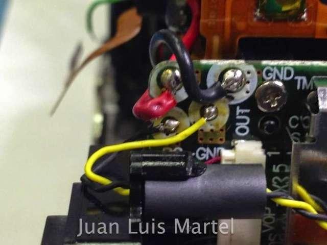 reparación mecanismo espejo disparador  canon 5d mark 2