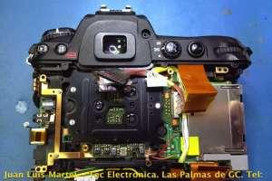Reparación de averías electronica en camara Nikon D300S