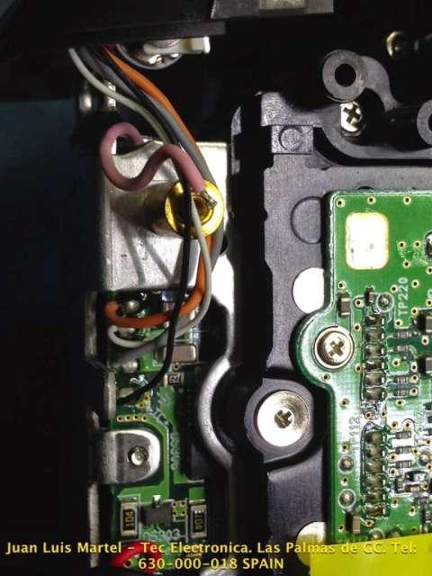 Conexiones de la unidad del flash de la cámara fotográfica Nikon D 60