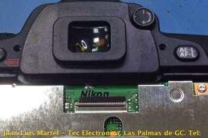 Reparación de camara de fotos DSLR NIKON D80