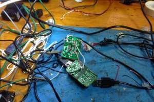 Gestor de carga economico para cargar baterías en el taller